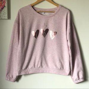 💕 JOY Sweatshirt - size medium - Reitmans